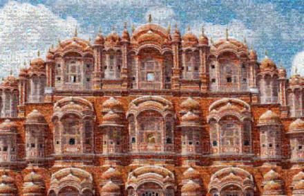 Amer Fort Palace Mosaic 5000 imp2