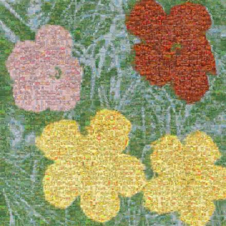 Flowers II 65 Mosaico