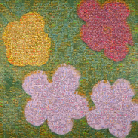 Flowers II 68 Mosaico