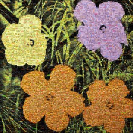 Flowers ii 67 Mosaic