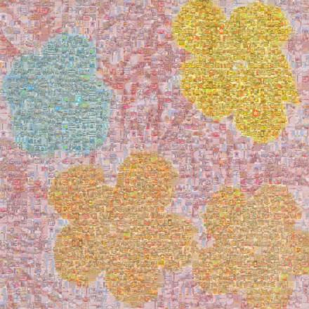 Flowers ii 70 Mosaic