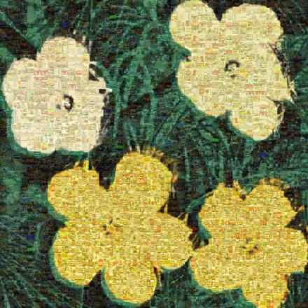 Flowers ii 72 Mosaic
