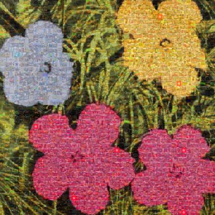 Flowers ii 73 Mosaic