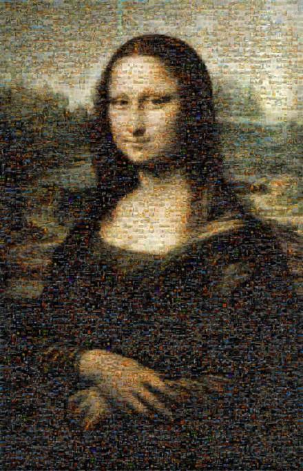 Joconde Mosaic