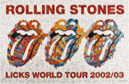 Rolling Stones 197 LG Mosaic