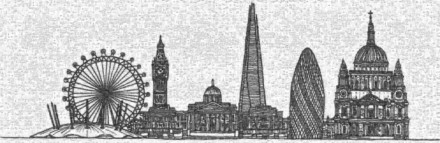 Rewm London Skyline1 Mosaic